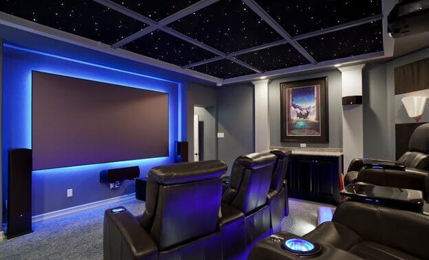 Led light strips hdmiextenderblog home theater lighting with led light strips aloadofball Images
